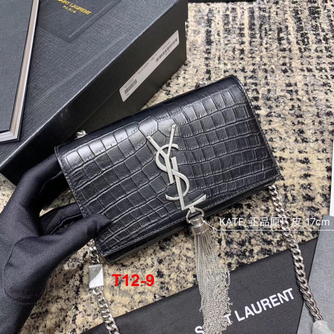 T12-9 Yves Saint Laurent YSL túi size 17cm siêu cấp