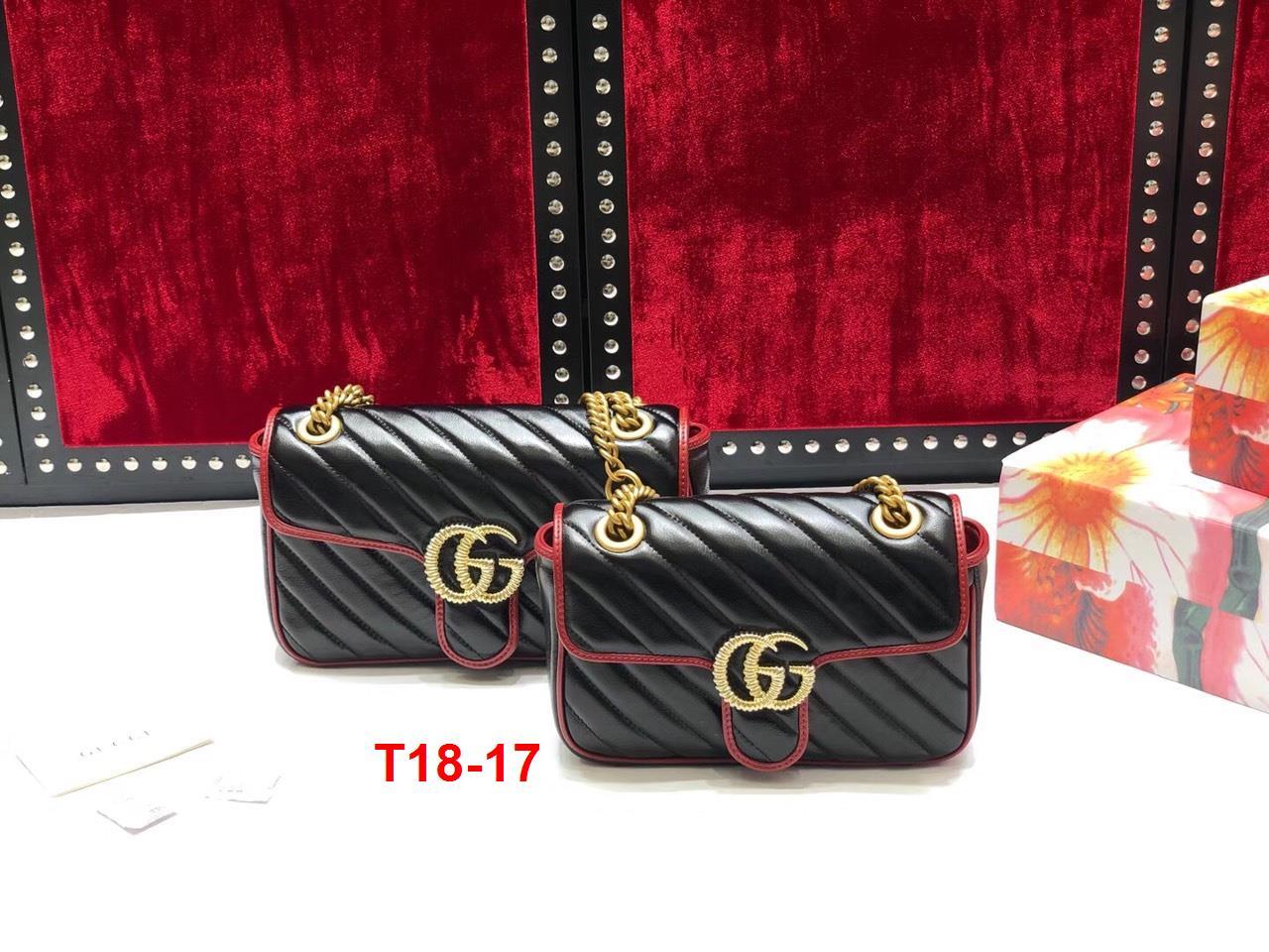 T18-17 Gucci túi size 22cm, 26cm siêu cấp