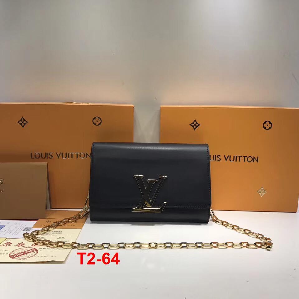 T2-64 Louis Vuitton túi size 23cm siêu cấp