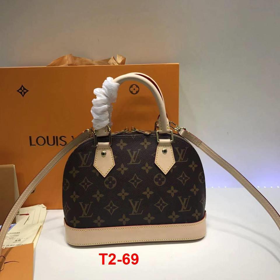 T2-69 Luis Vuitton túi balo size 25cm siêu cấp