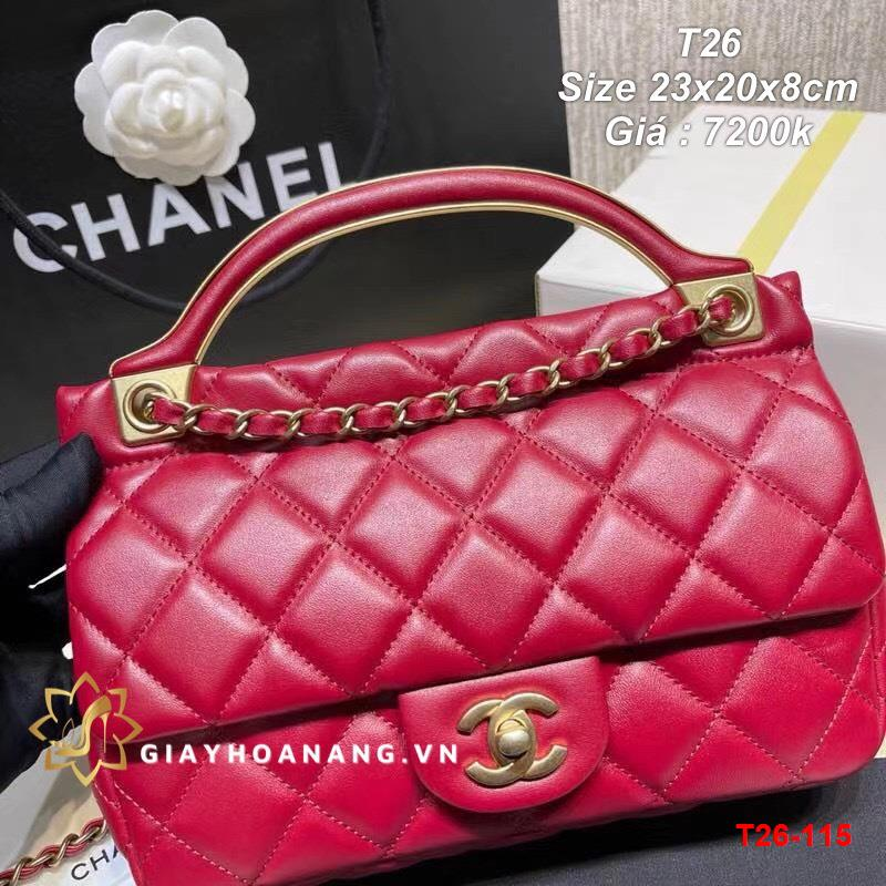 T26-115 Chanel túi size 23cm siêu cấp