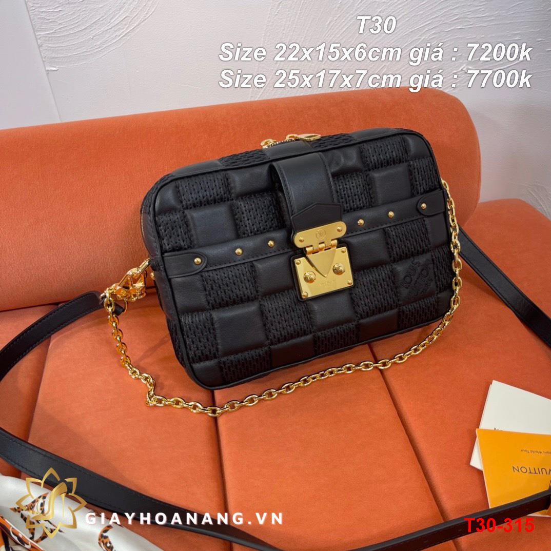 T30-315 Louis Vuitton túi size 22cm , 25cm siêu cấp