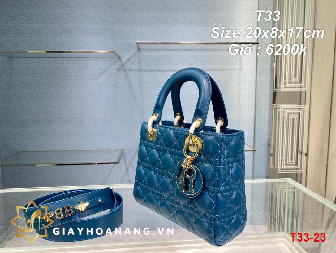 T33-23 Dior túi size 20cm siêu cấp