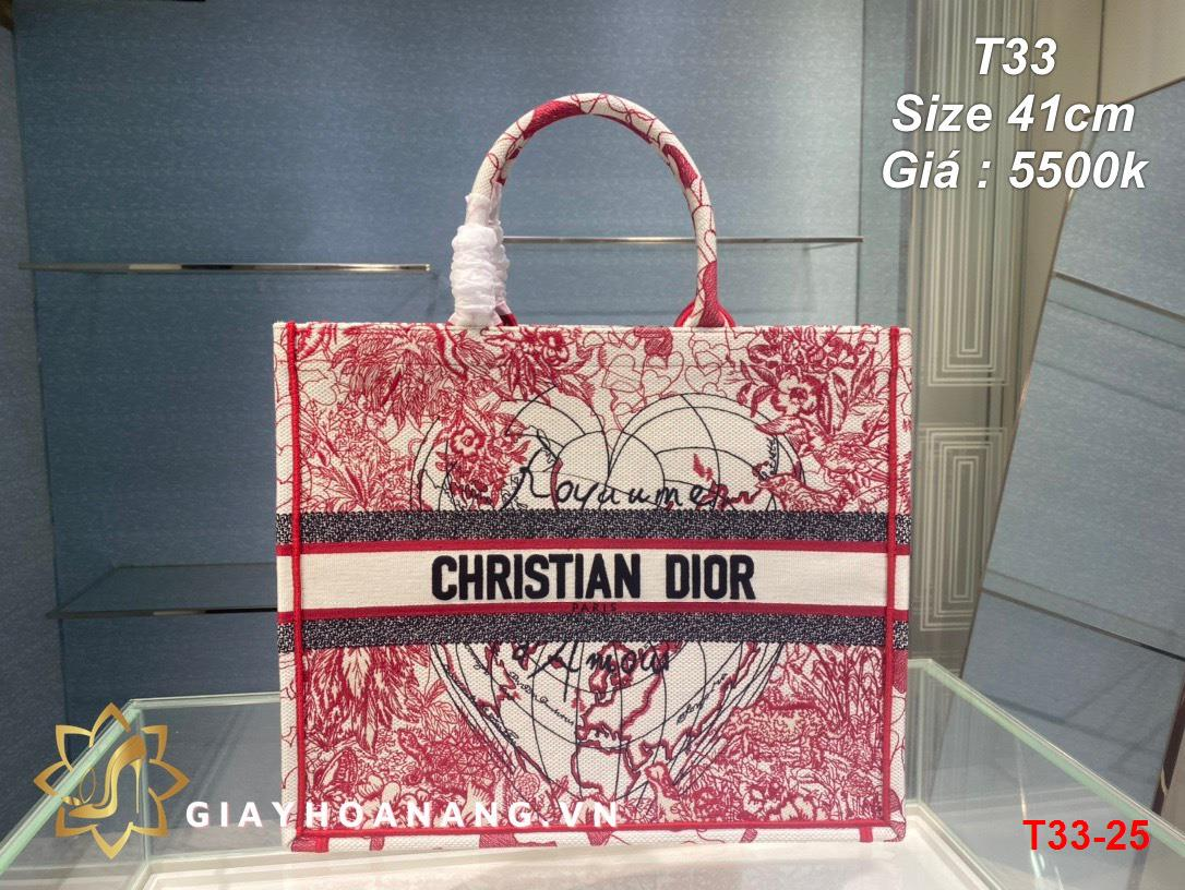 T33-25 Dior túi size 41cm siêu cấp