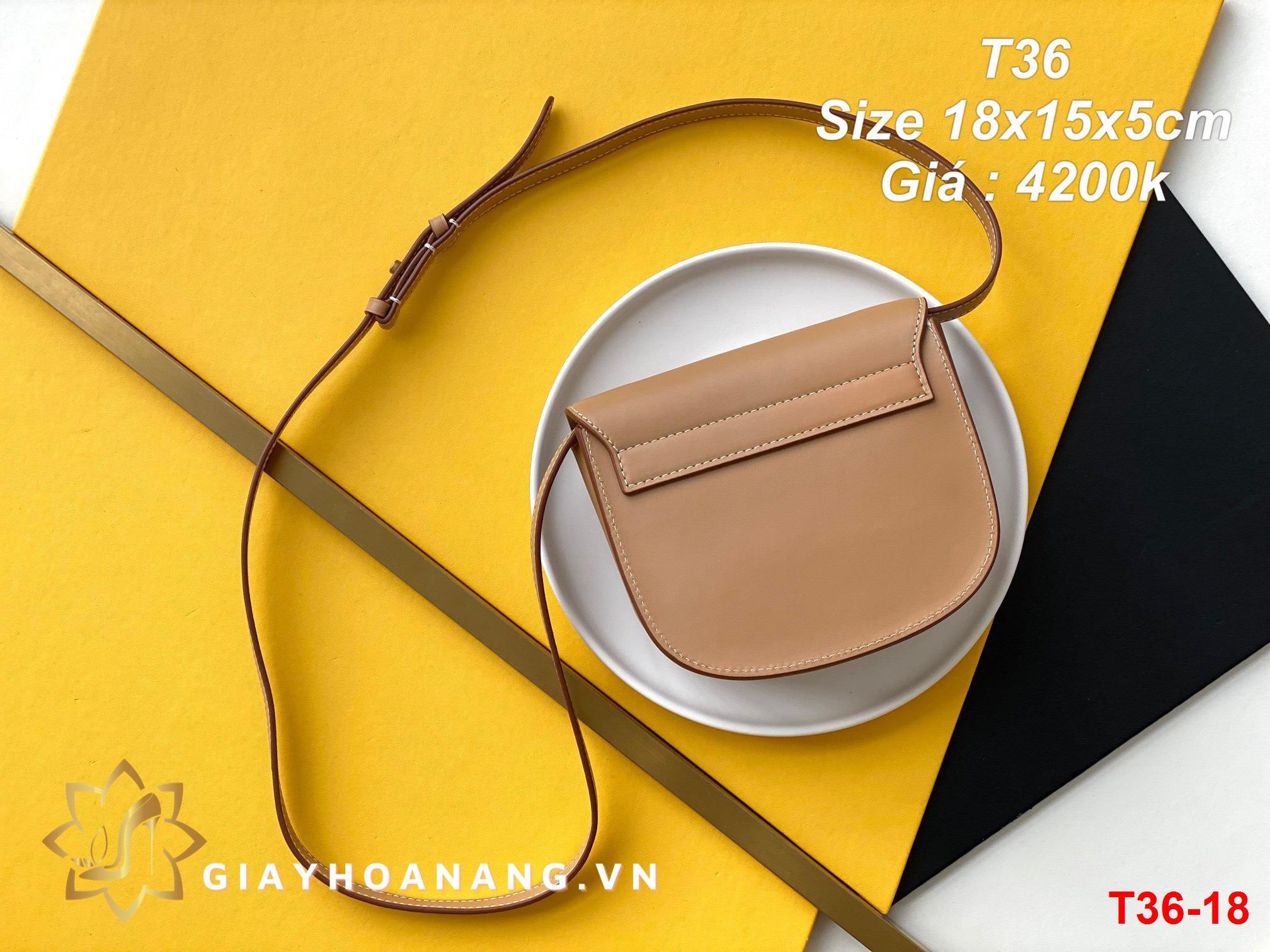 T36-18 Saint Laurent túi size 18cm siêu cấp