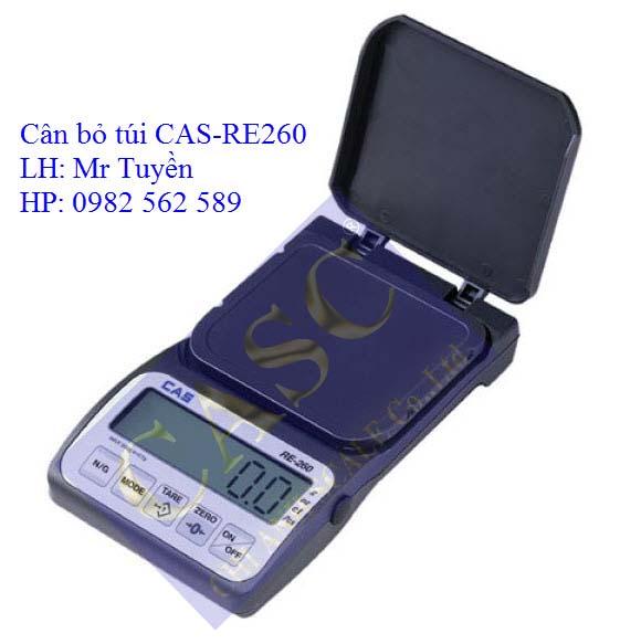 Cân bỏ túi RE-260 CAS