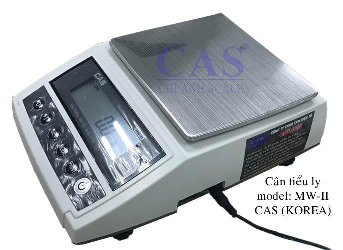 Cân tiểu ly MW-II hãng sản xuất CAS Hàn Quốc