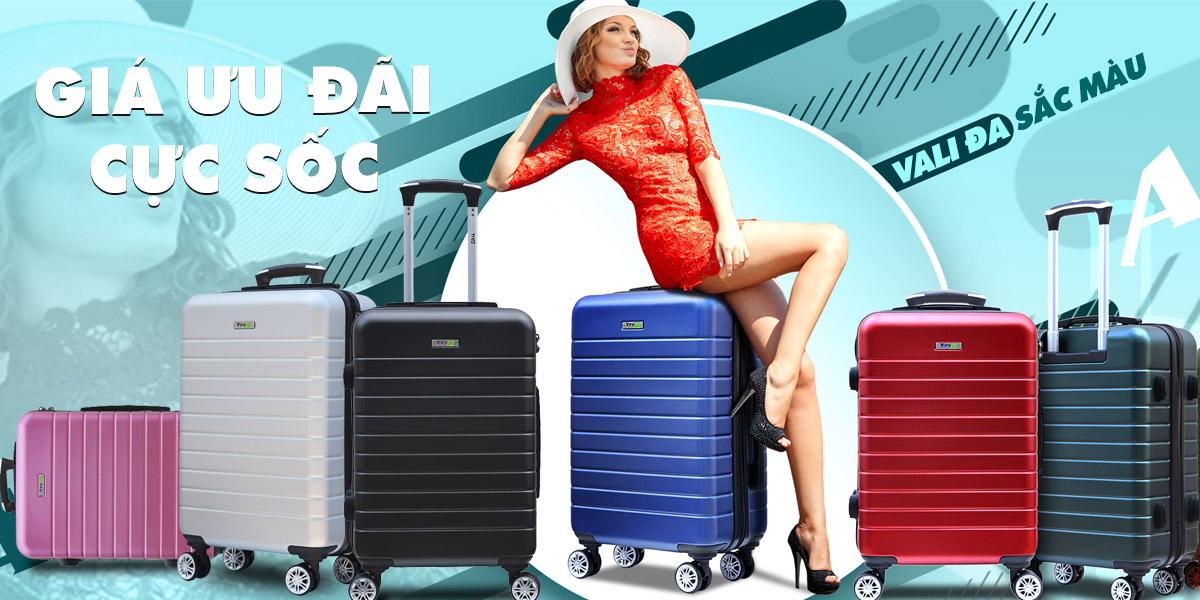 vali PC911 đa sắc màu