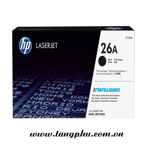 Mực in laser hp 26A