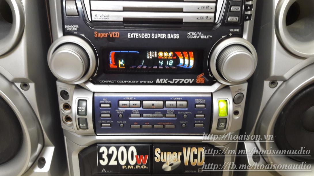 JVC MX-J770V