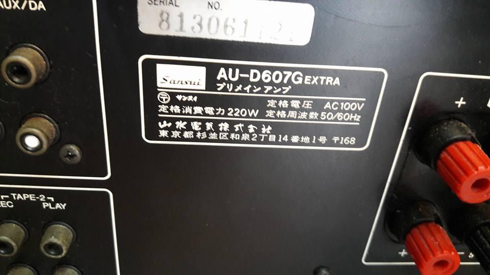 AMPLY SANSUI D607G