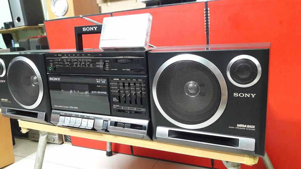 Cassette Sony Cổ 1110S