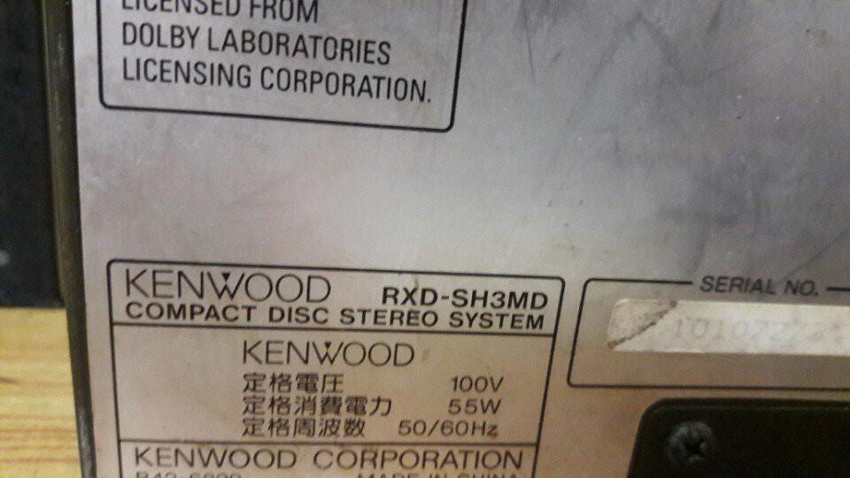MINI KENWOOD SH3MD