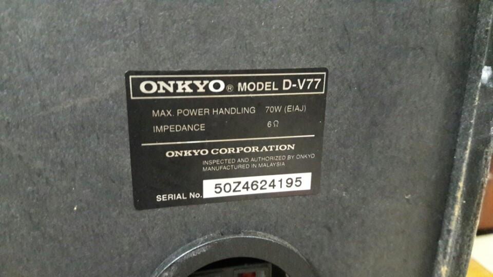 ONkyo V77