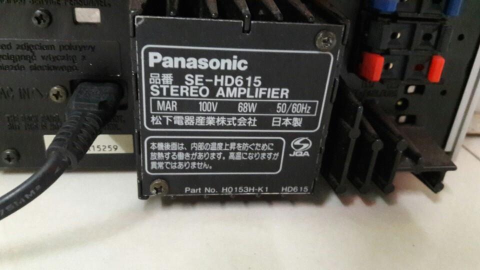 Panasonic SE HD615