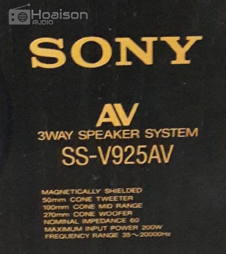 SONY 925 AV