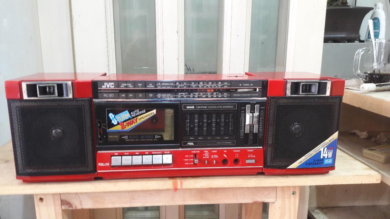 CASSETTE JVC PC30