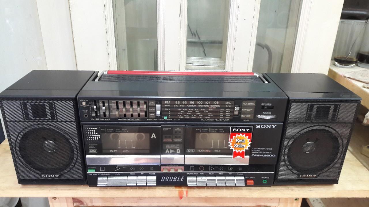 CASSETTE SONY CFS-W600