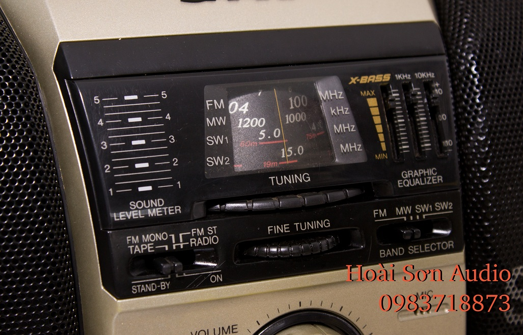 ĐÀI CASSETTE RADIO SHARP QT-125