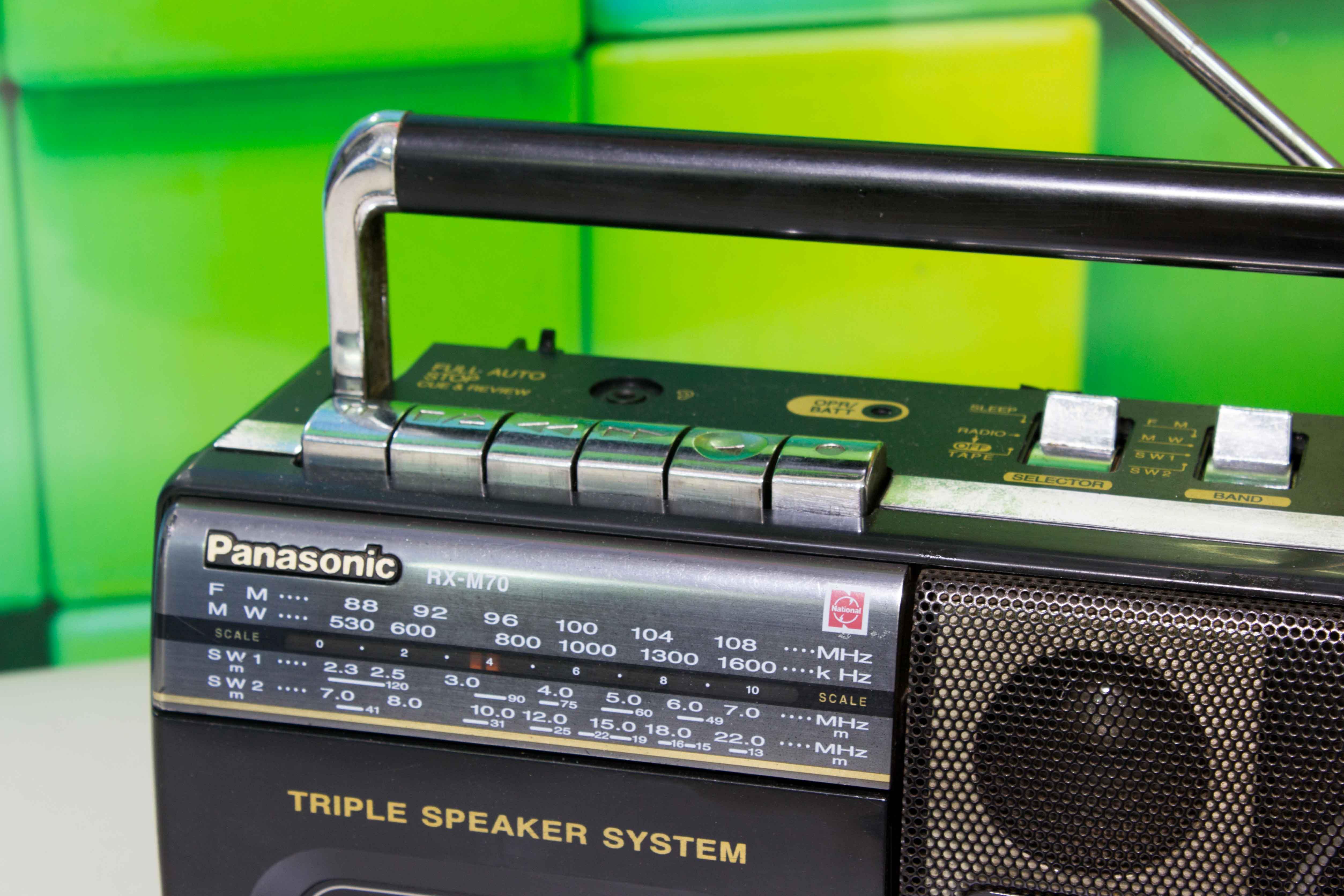 ĐÀI CASSETTE CỔ PANASONIC RX-M70
