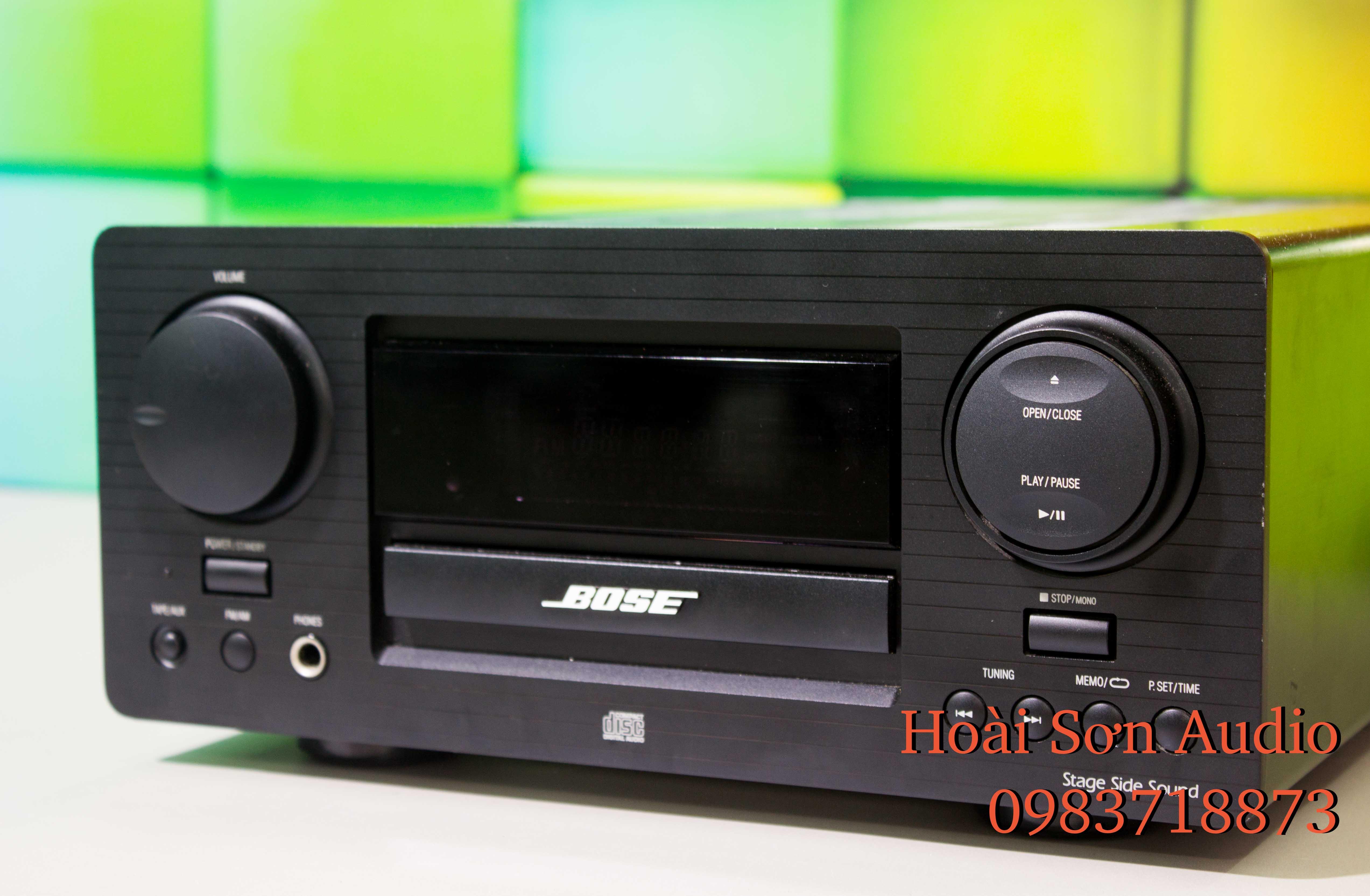 DÀN BOSE 2 THỚT CD SSS-1MC VÀ MD MDS-1