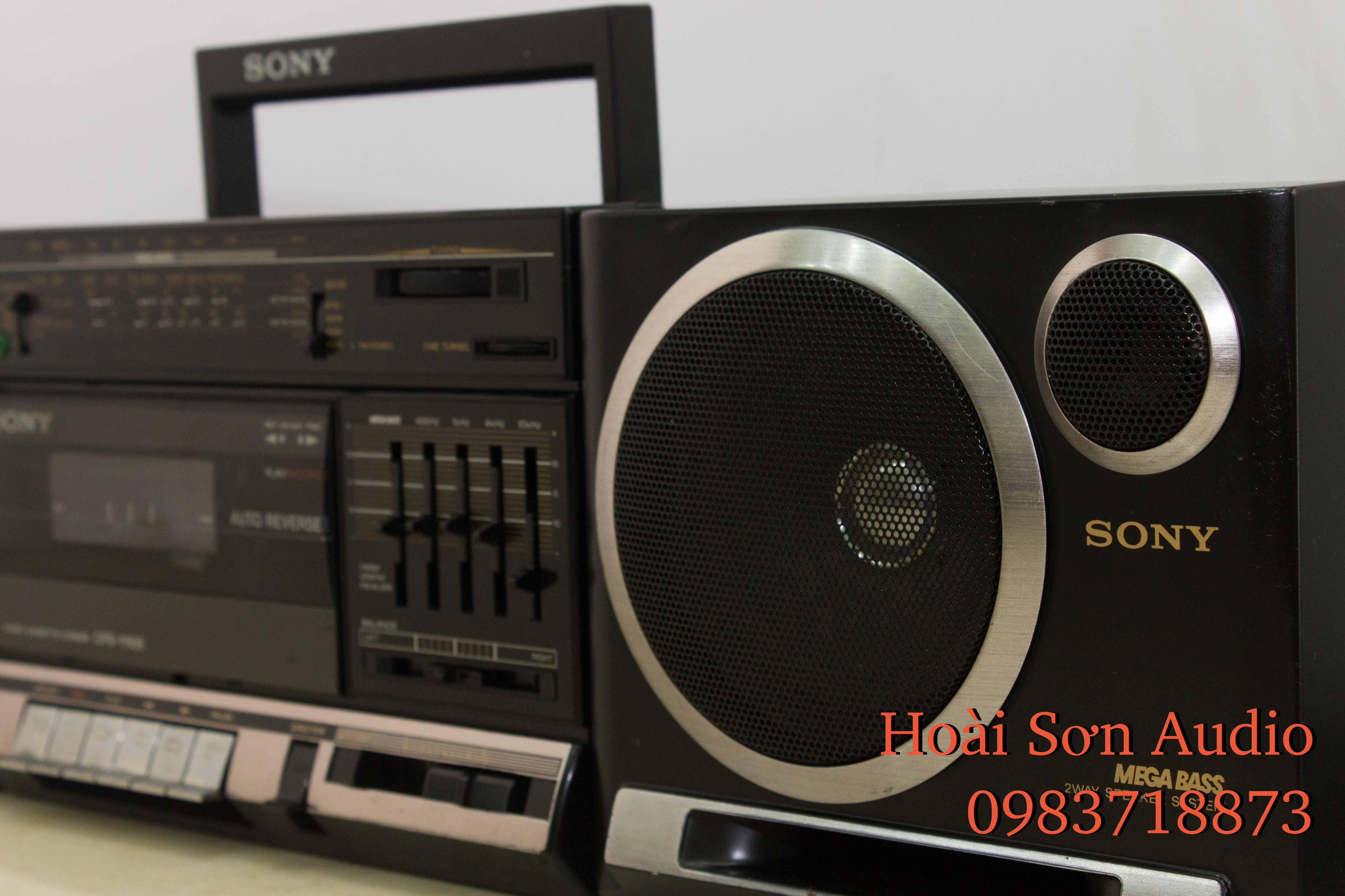 ĐÀI CỔ SONY CFS-1110S