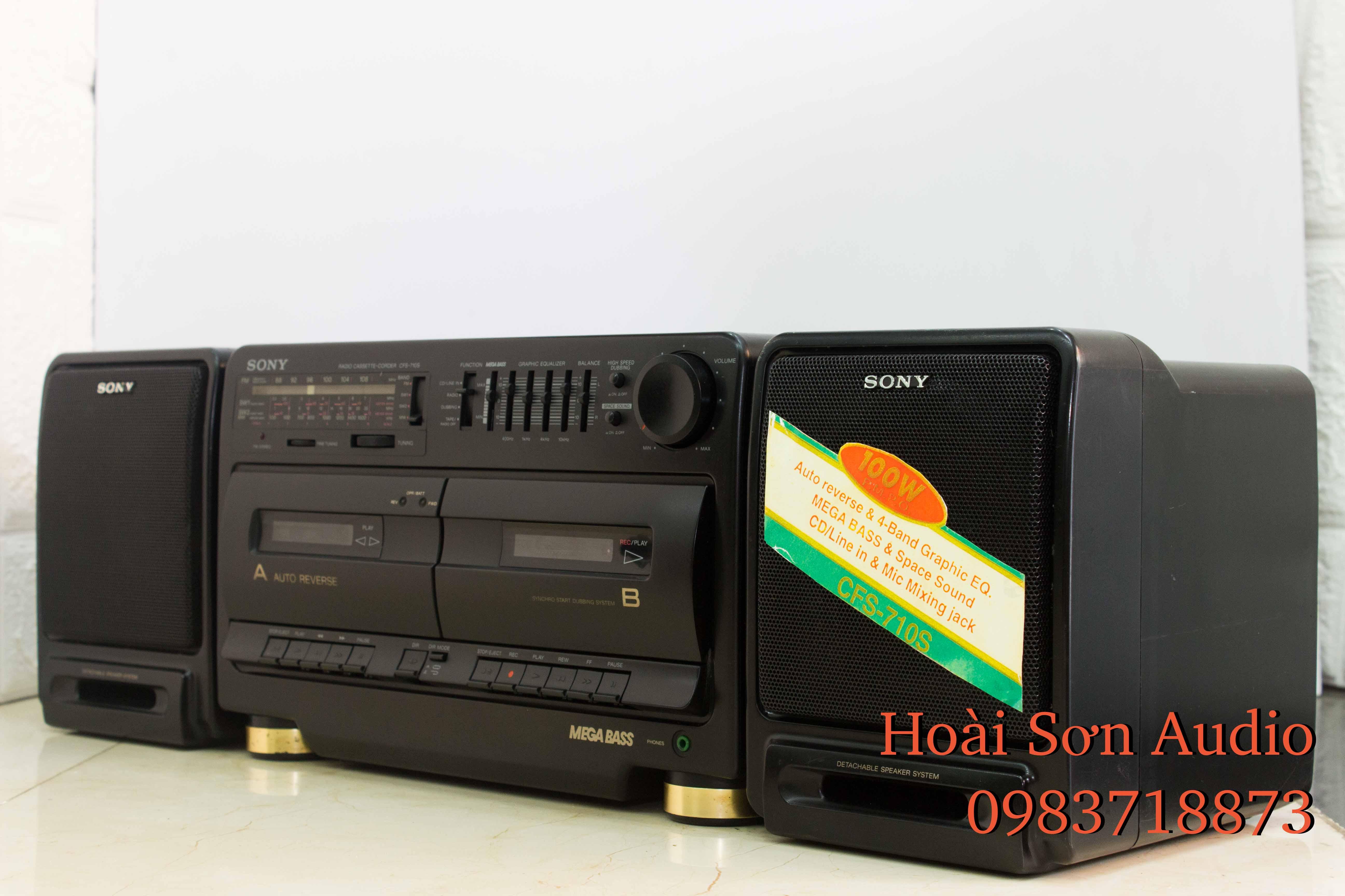 ĐÀI CỔ SONY 710S