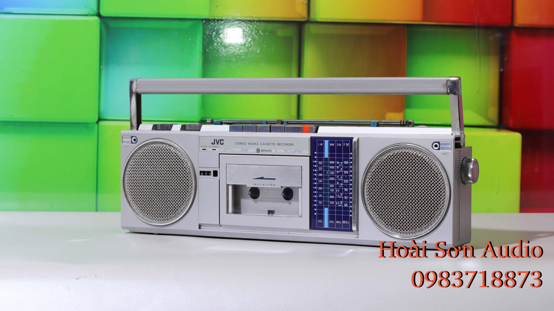ĐÀI CASSETTE CỔ JVC S40LD