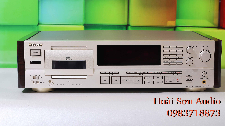 ĐẦU DAT CASSETTE SONY DTC-57ES
