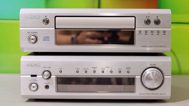 ĐẦU CD VÀ AMPLY DENON F101