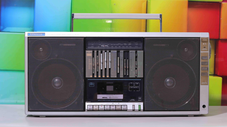 ĐÀI CASSETTE CỔ BOOMBOX PIONEER K550