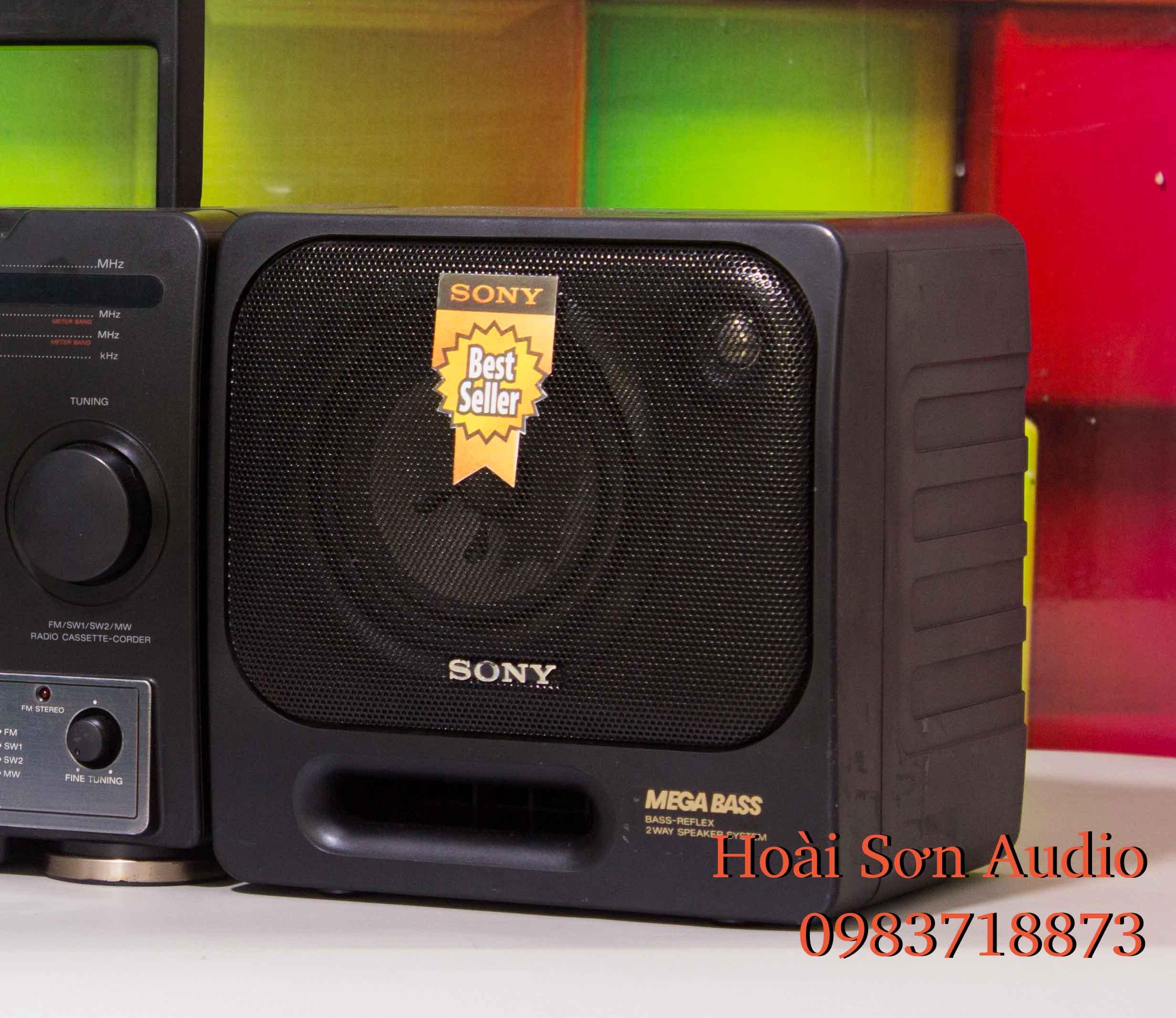 ĐÀI CASSETTE CỔ RADIO SONY 1130S