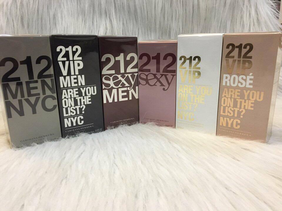NƯỚC HOA CAROLINA HERRERA 212 VIP MEN NYC