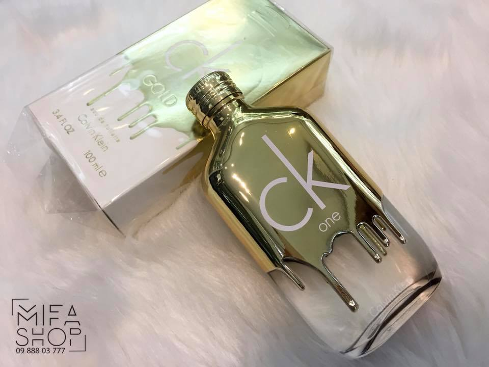 NƯỚC HOA CK ONE GOLD CALVIN KLEIN EDT 100ML_mifashop