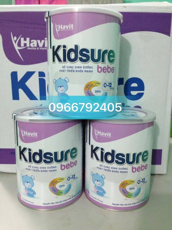 Sữa Kidsure Bebe tăng cân cho trẻ 0-12 tháng (900gr)