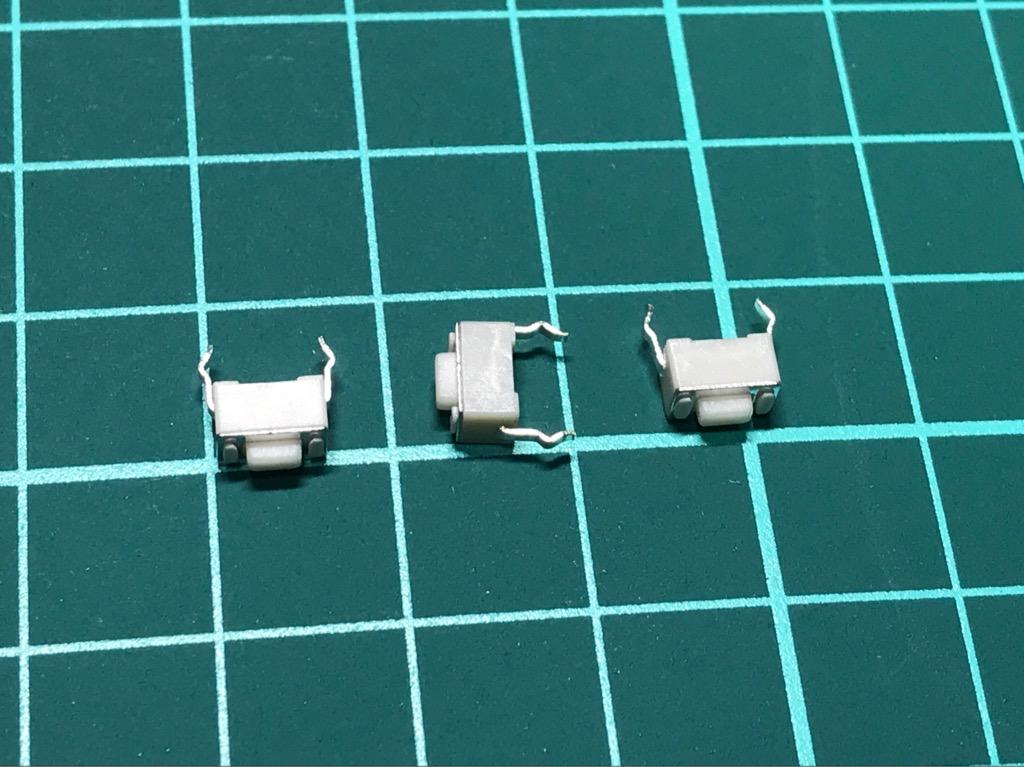 Nút nhấn SMD micro 3 x 6 x 4,3mm 10 cái