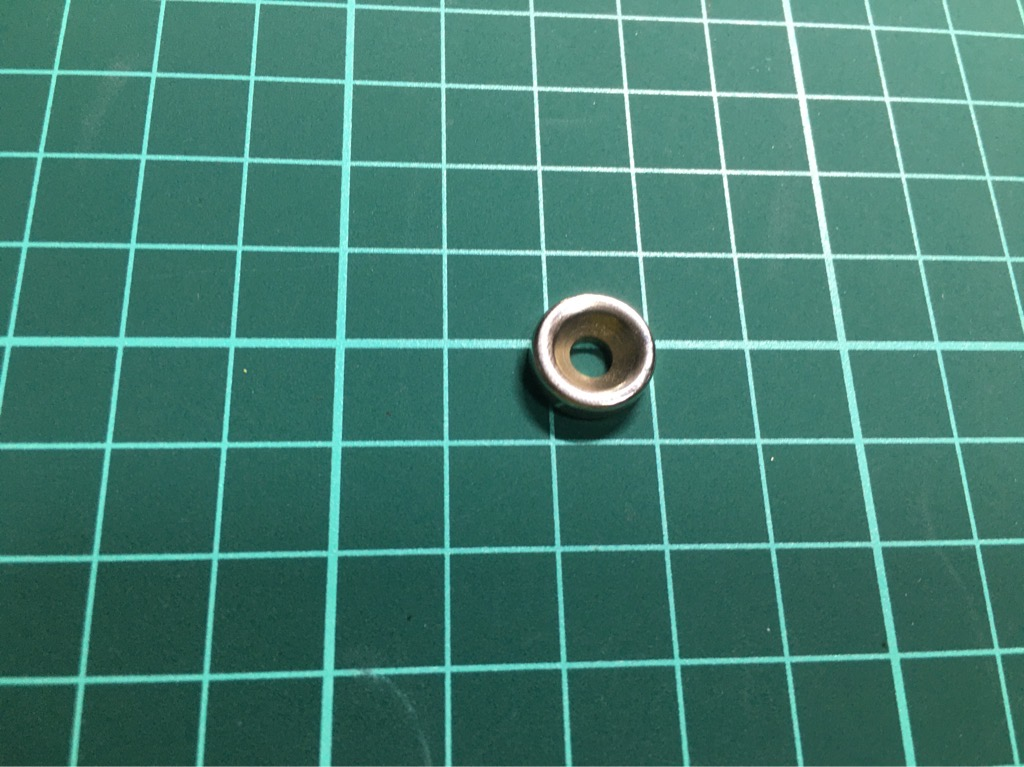 Nam châm đất hiếm fi 12mm dày 3mm lỗ 4mm
