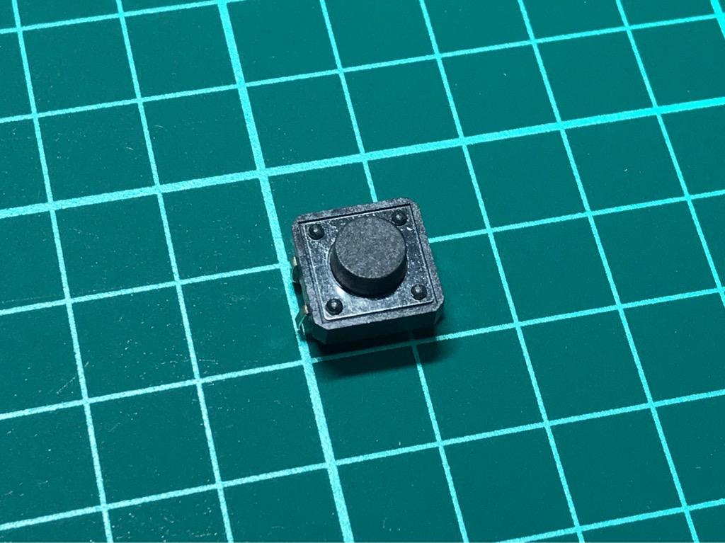 Nút nhấn hàn PCB bản to 12 x 12 mm
