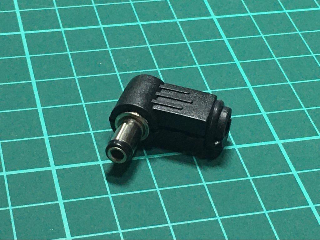 Giắc đực DC 5.5mm góc vuông