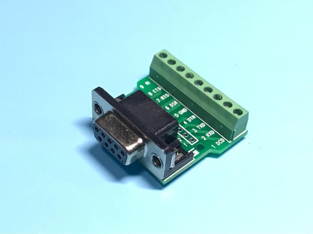 Module DB9 485 chuyển đổi RS232 cái sang bắt vít