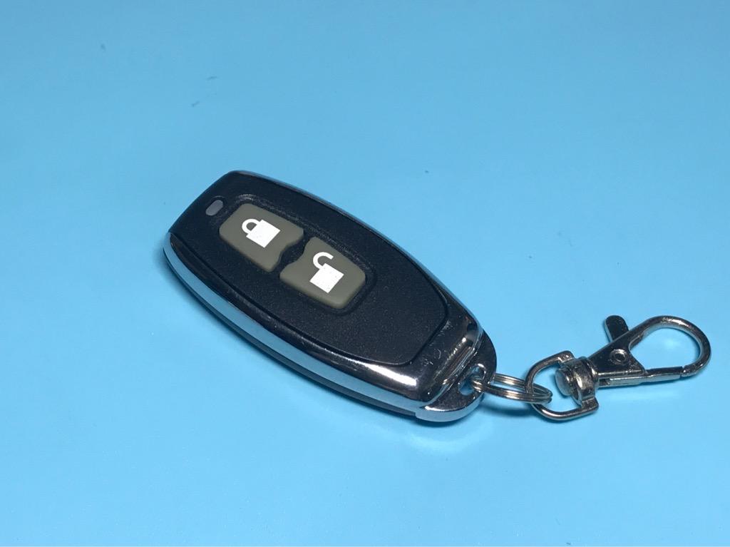Khiển remote 2 nút màu đen 315hmz