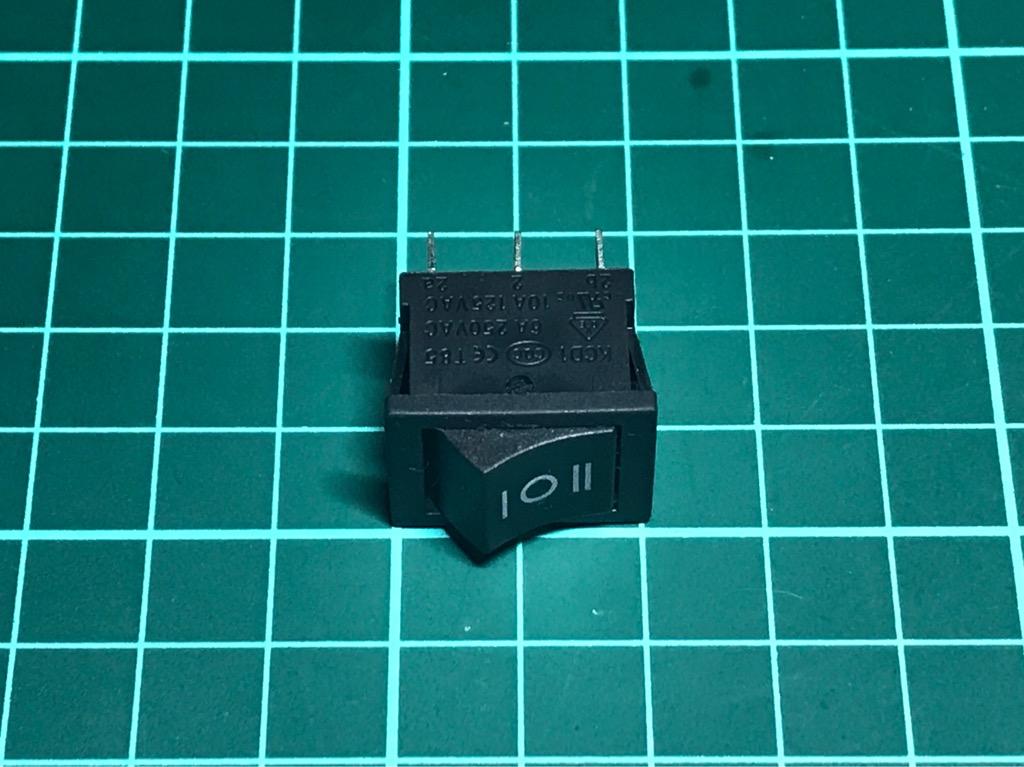 Công Tắc 6 chân 3 nấc nhỏ 250VAC 6A