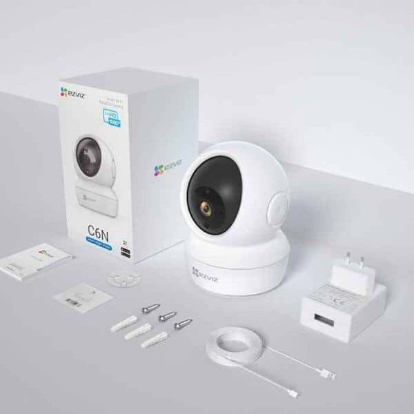 Camera 2M IP WIFI EZVIS  C6N CV246 C6CN 1080P FULL HD [Có cổng Lan]