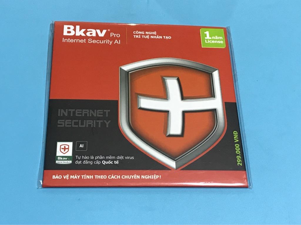 Bkav pro phần mềm diệt virus chính hãng