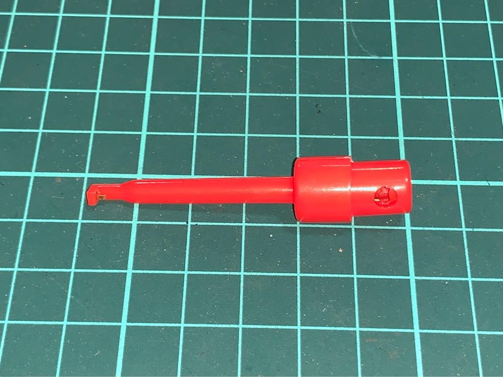 Đầu kẹp dây điện loại to - Màu đỏ