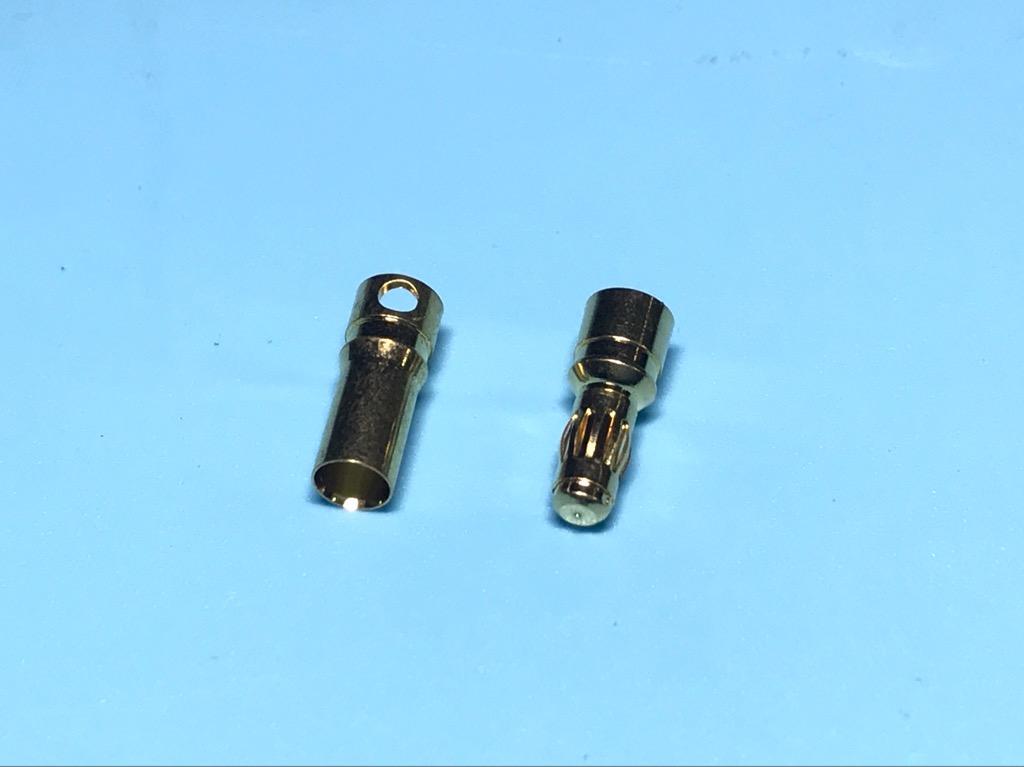 Bộ giắc cắm nguồn 4mm 3,5mm mạ vàng tải 100A cho máy bay