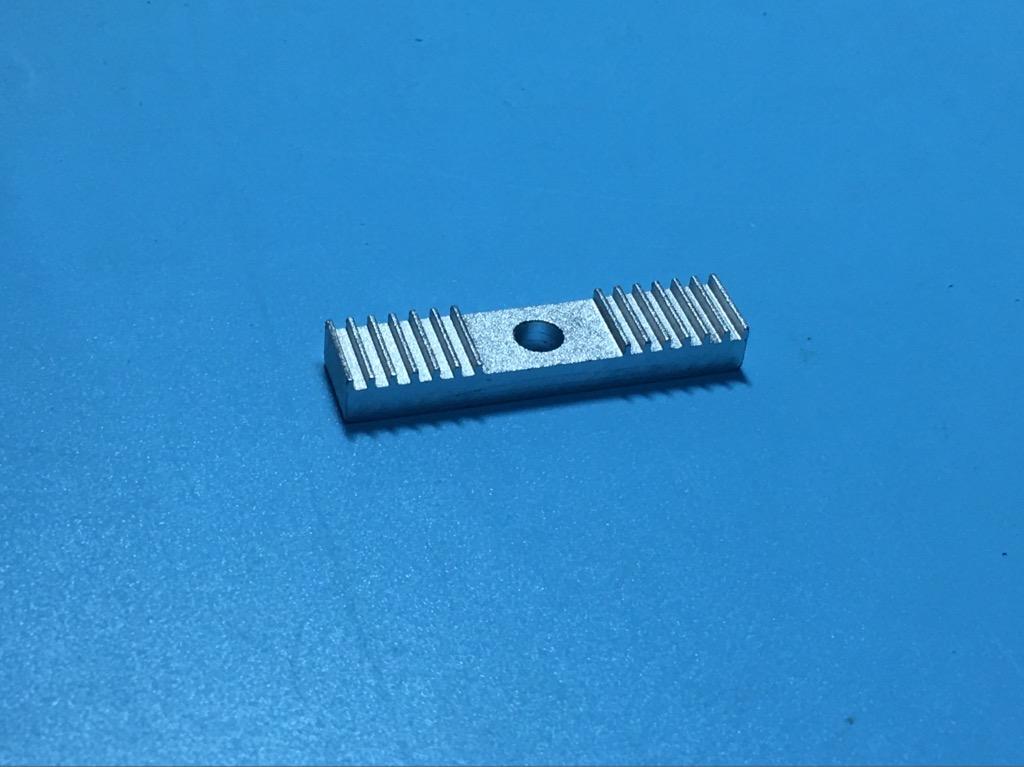 Mã nhôm kẹp dây đai GT2 máy in 3D cố định 9x40mm