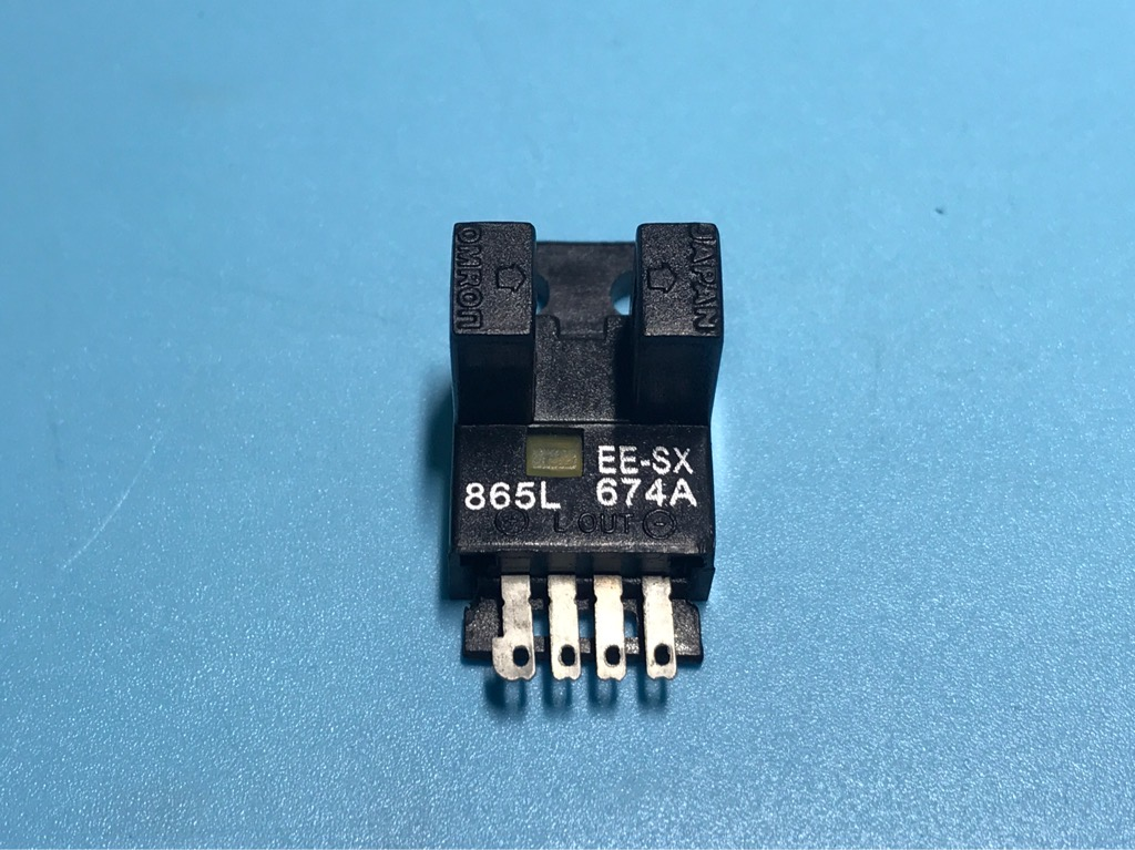 Cảm biến chuyển đổi quang điện EE-SX674A mức thấp 5-24V NPN