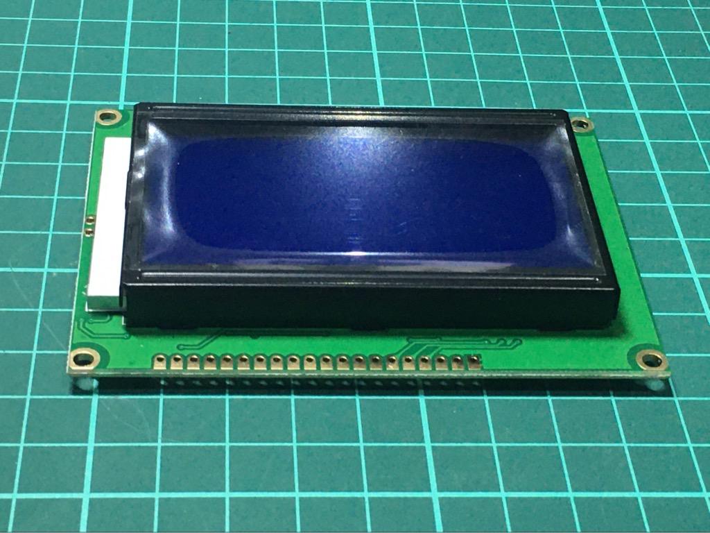 Màn Hình LCD 128x64 Xanh 5V LCD12864