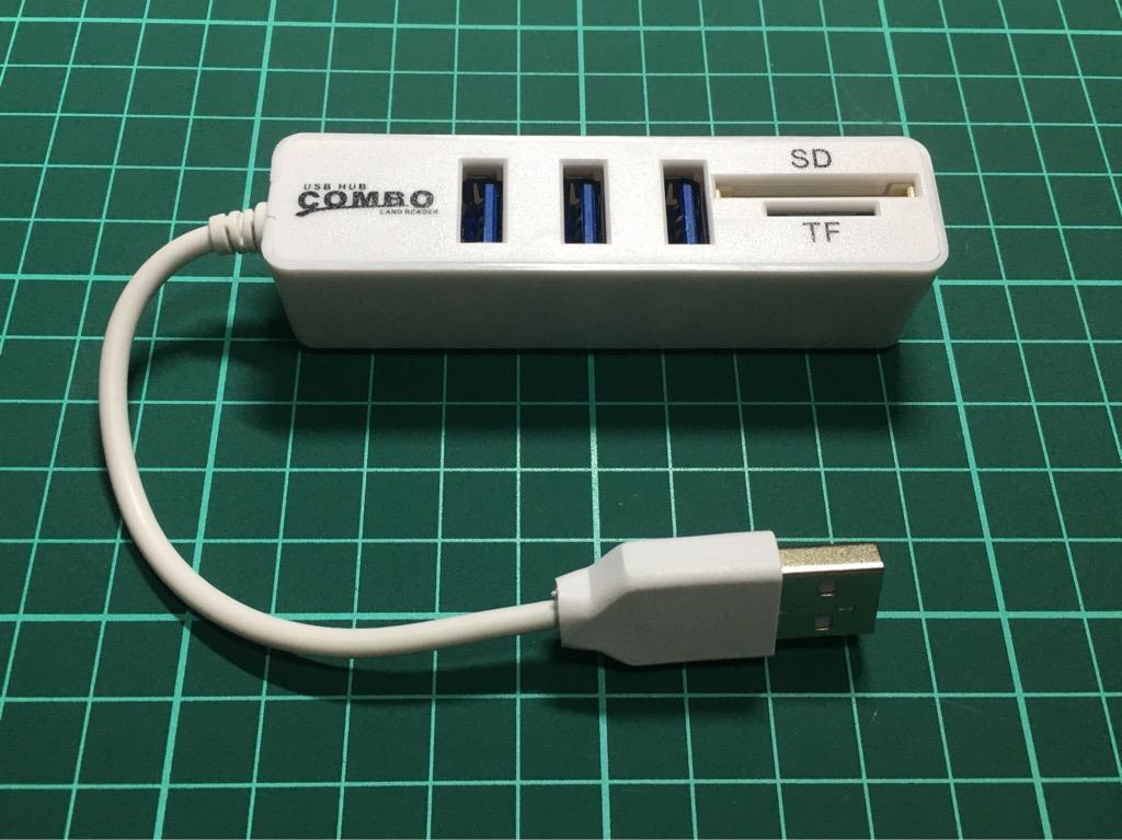 Cổng chia Hub 3 USB thẻ SD và TF